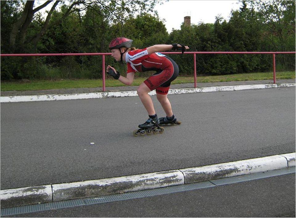 Sport: Speedskater fahren so schnell wie ein Auto in der Stadt - bis zu 50 km/h