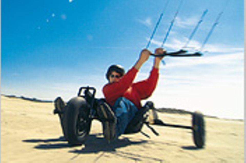 Kitebuggying: Im Bann des Drachen