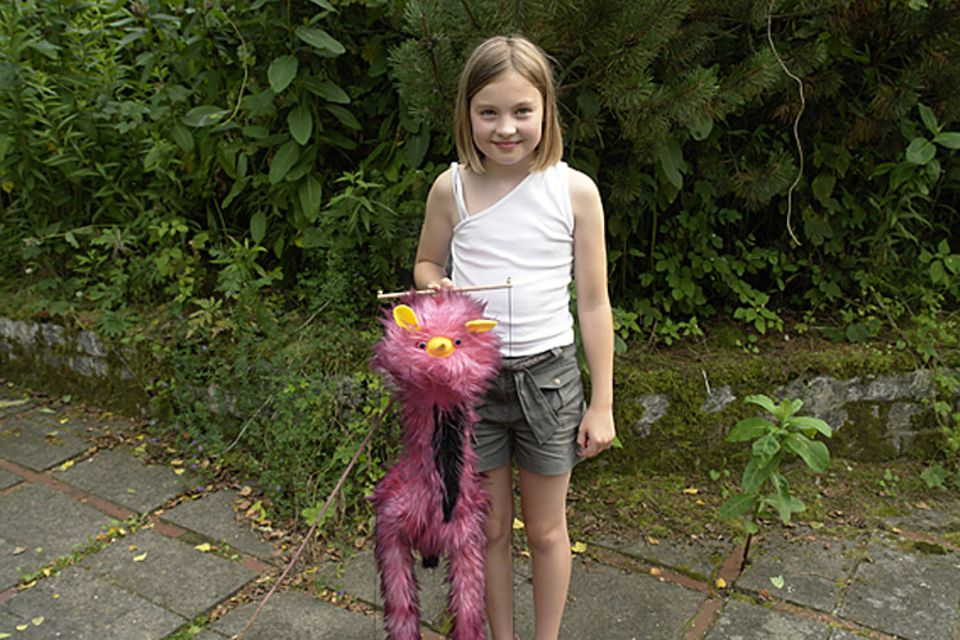 Musik: Die zehnjährige Johanna-Marie und ihr geliebter Marionetten-Vogel Birdy