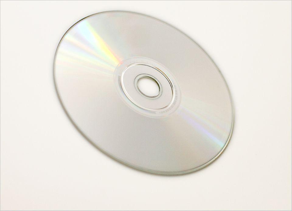 Auf eine CD passen mindestens 74 Minuten