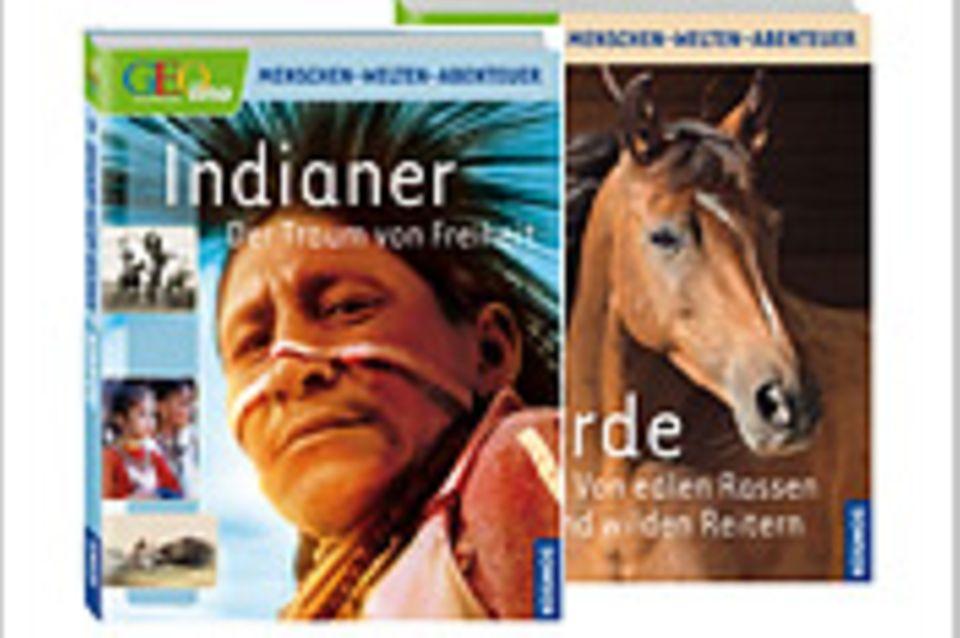 Wegen des großen Erfolgs: zwei neue Titel in der GEOlino-Sachbuchreihe