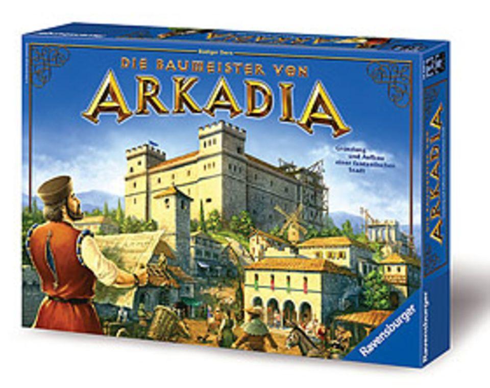 Brettspiel: Die Baumeister von Arkadia