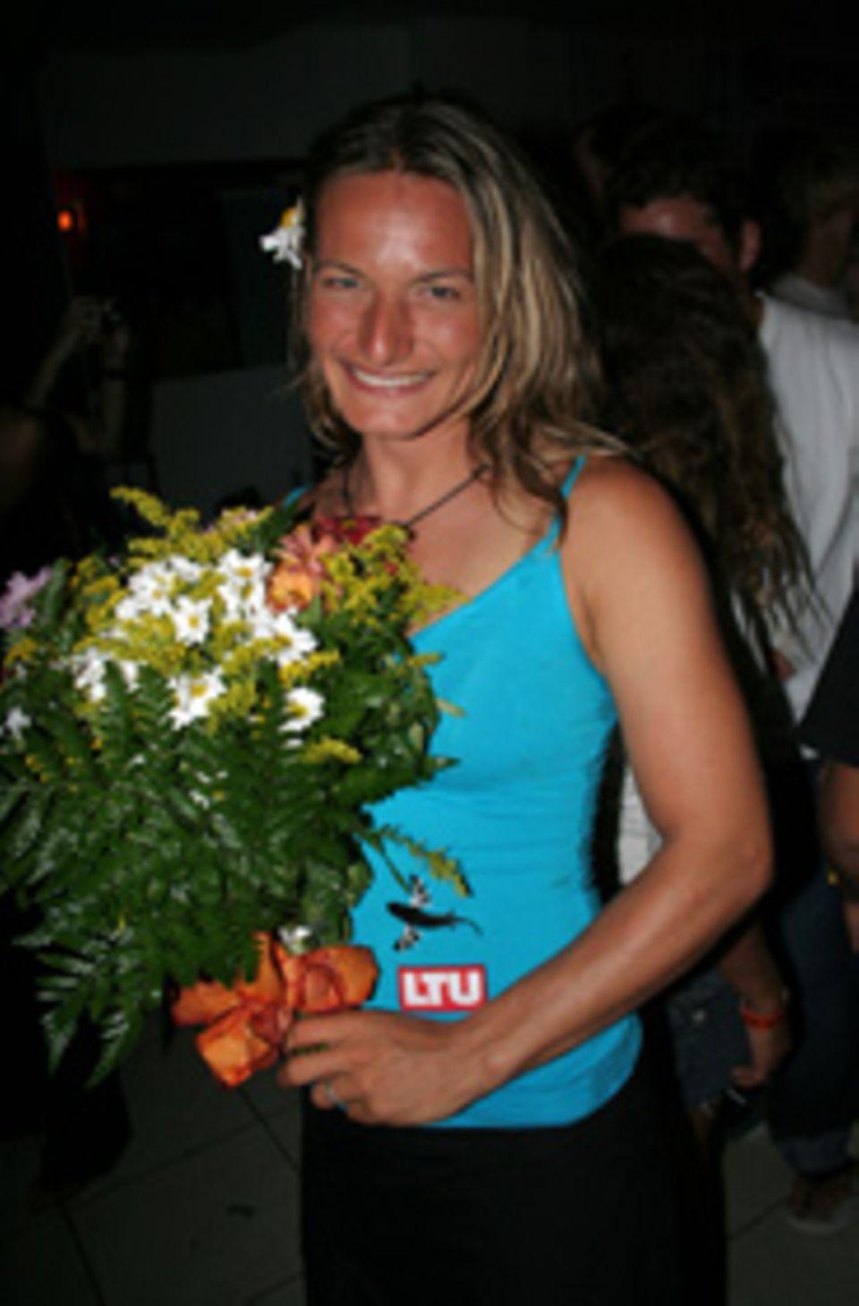 Kitesurf-Weltmeisterin Kristin Boese