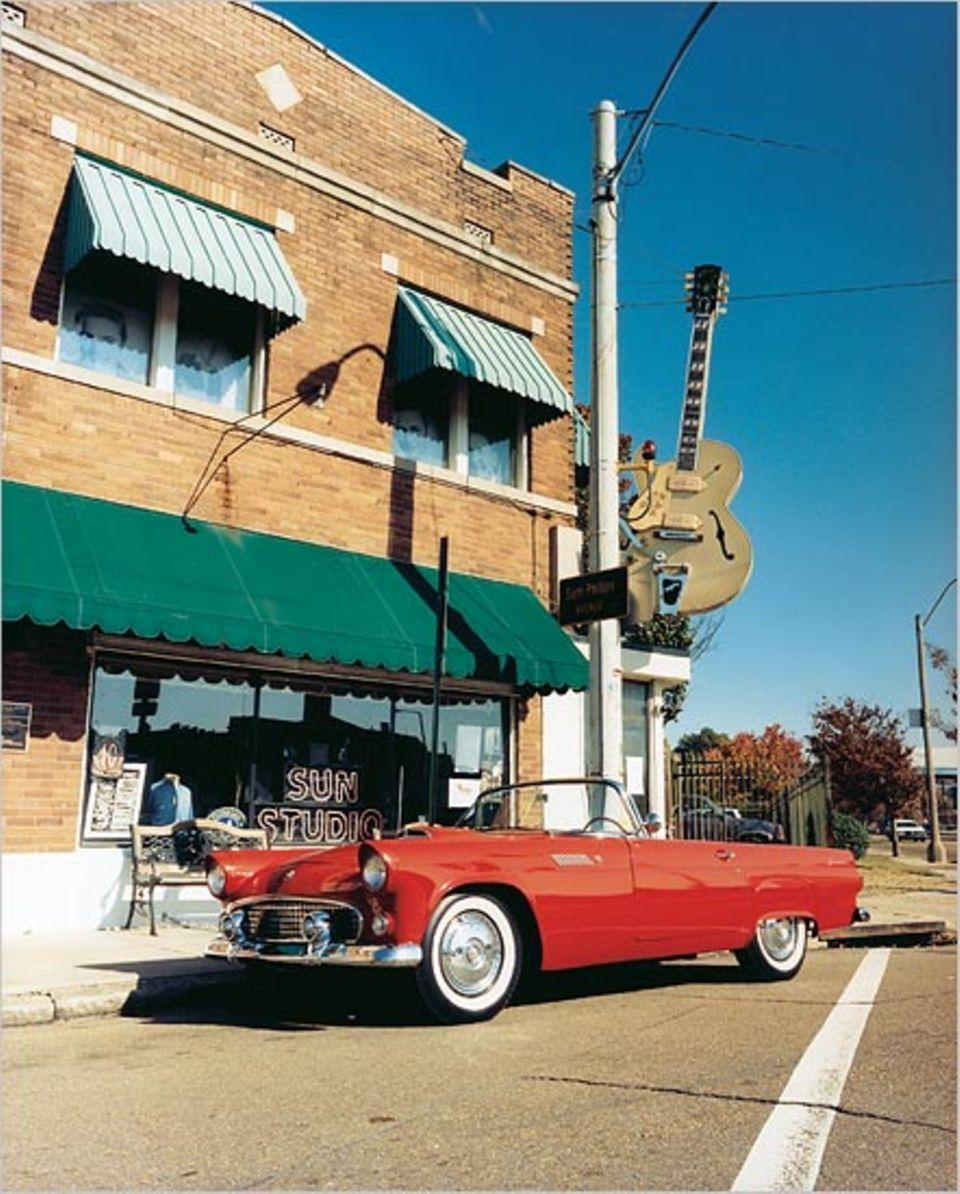 Wo Legenden geboren wurden: Im Sun Studio in Memphis nahmen Elvis Presley und Johnny Cash ihre ersten Platten auf. Heute werden nachts CDs aufgezeichnet, am Tag Besucher herumgeführt