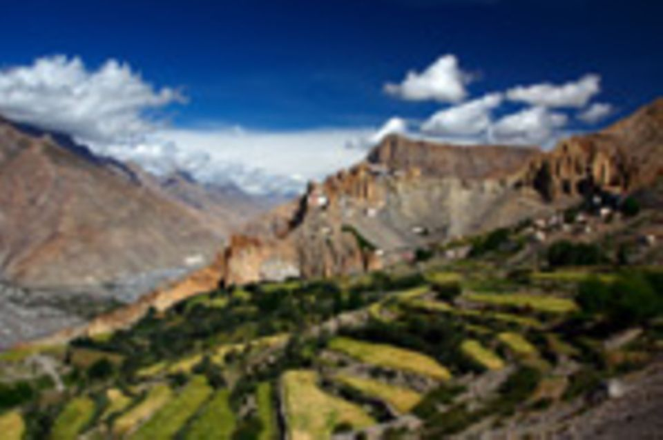 Postbote im Himalaya