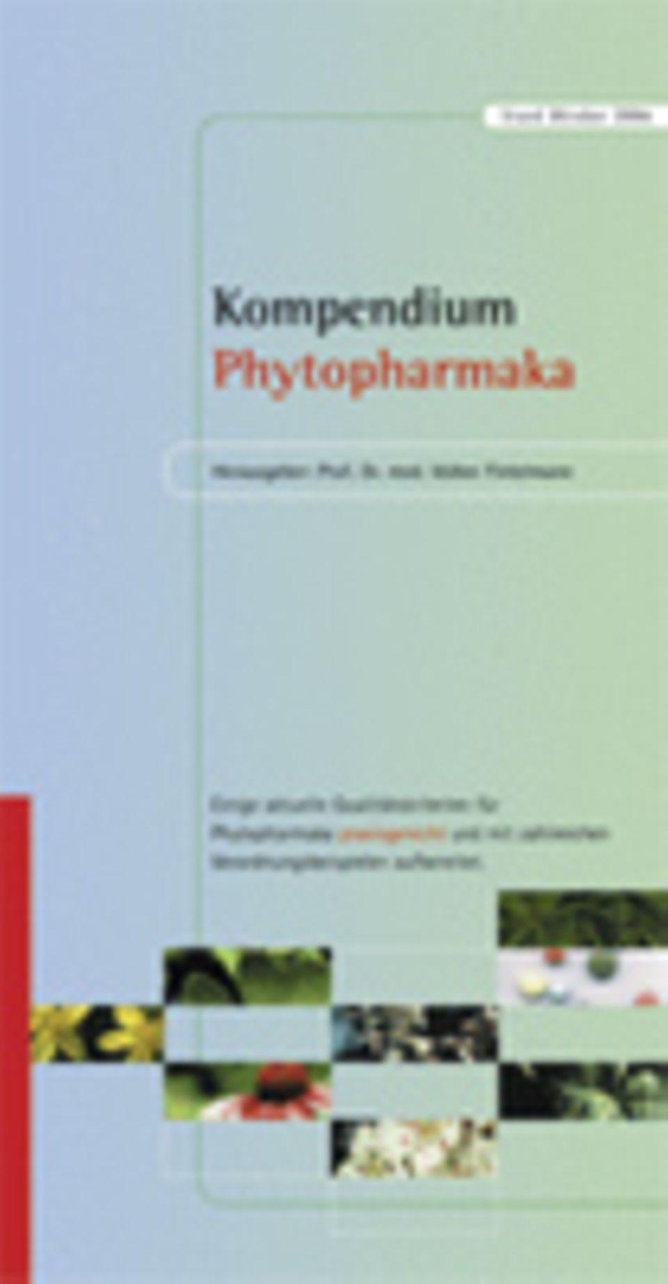 Aus: Kompendium Phytopharmaka (Kirchheim-Verlag)