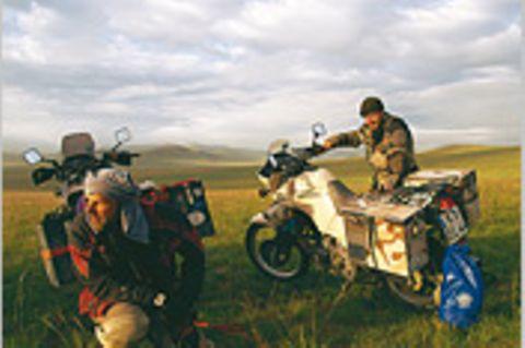 Motorradtour: Von Köln nach Shanghai