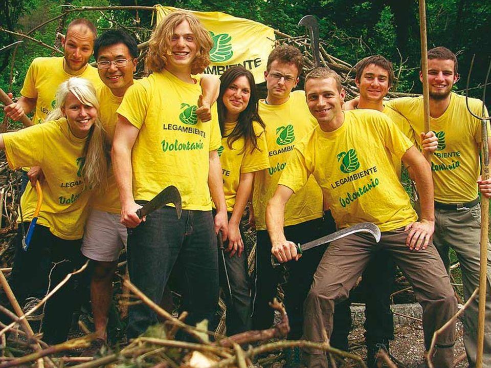 Motivierte Mannschaft: IBG-Camp in Italien