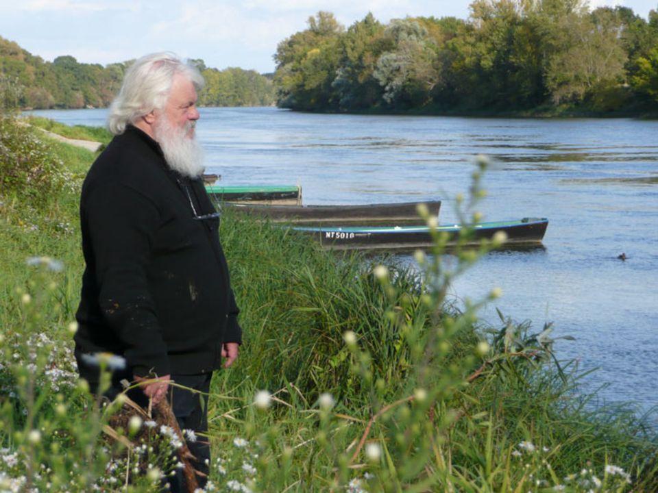 Jean-Jack Martin ist Zeichner und Bildhauer. Er schätzt die Loire wegen ihrer Wildheit und Ursprünglichkeit