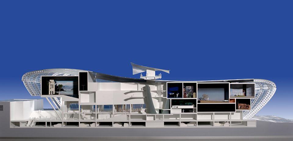 Video: Der gesamte Innenraum des Klimahauses ist von einer 10 000 Quadratmeter großen Glasfassadenkonstruktion umgeben