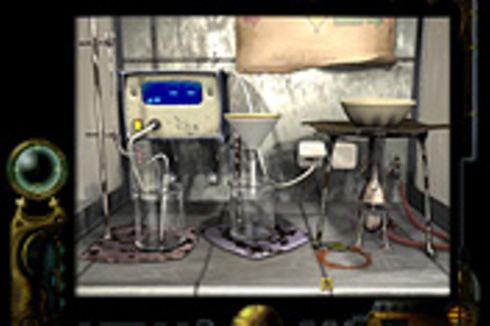 Spieletipp: Explosion im Laboratorium