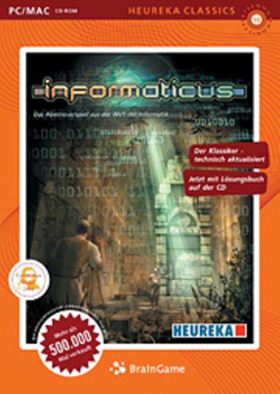 Informaticus: Spannender Entschlüsselungs-Krimi