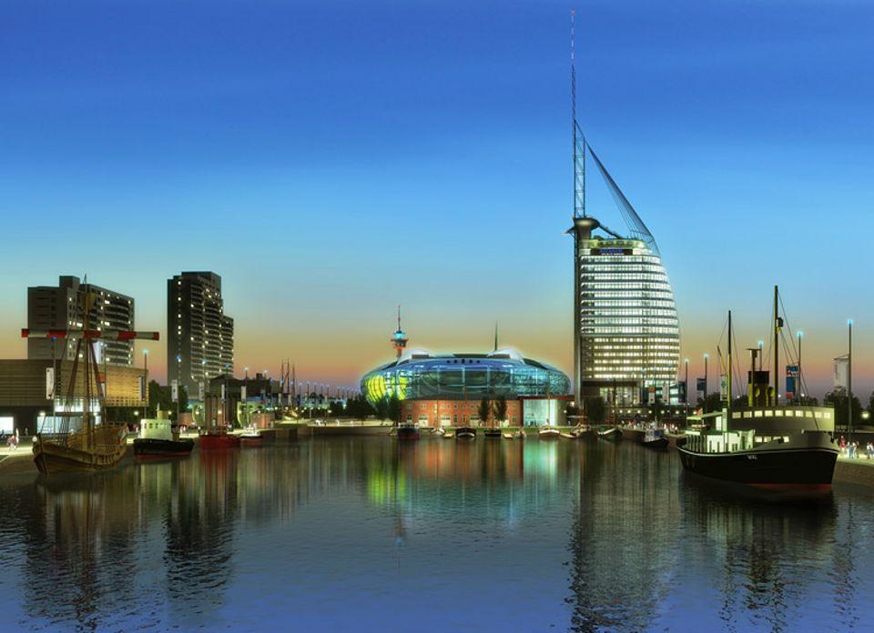 Video: Das Klimahaus wird auf einem 40 Hektar großen Hafengelände am Weserufer entstehen