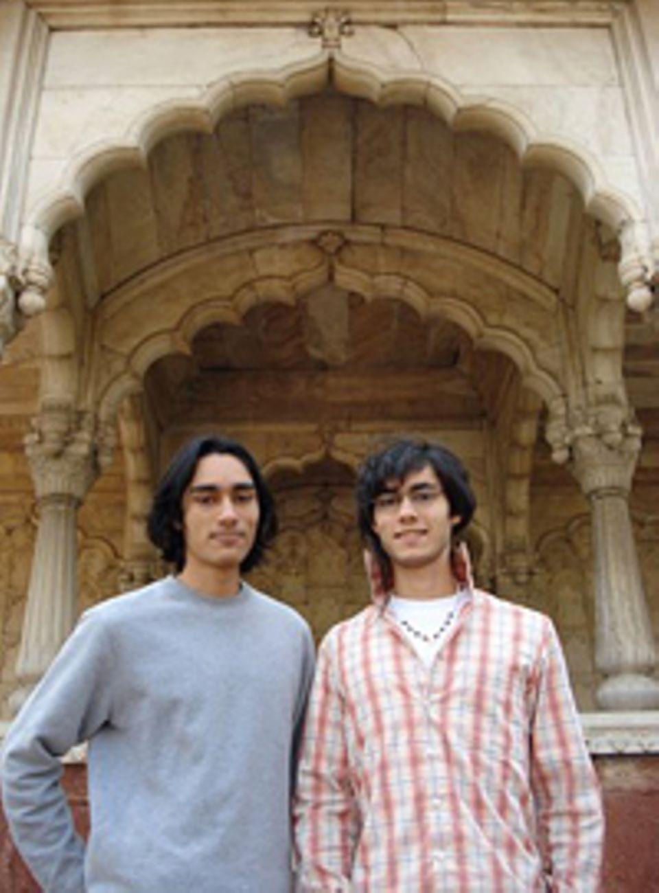 Die Zwillinge in Indien