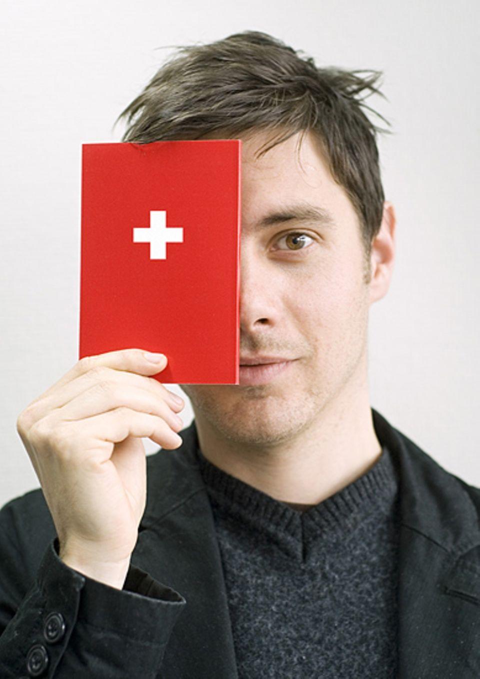 """Hat kein Problem mit der Aussprache von """"Chuchichäschtli"""": Yann Cherix aus Zürich"""