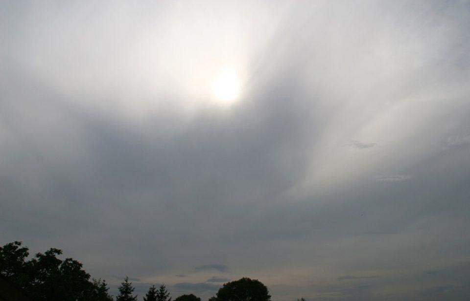 Wetter: Altostratuswolken
