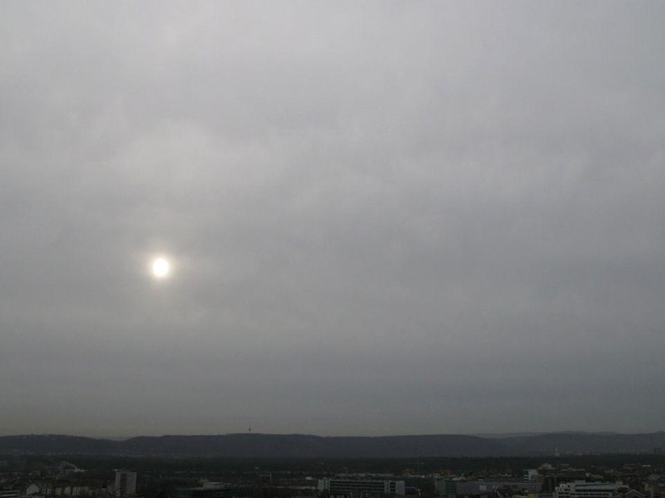 Wetter: Stratuswolken
