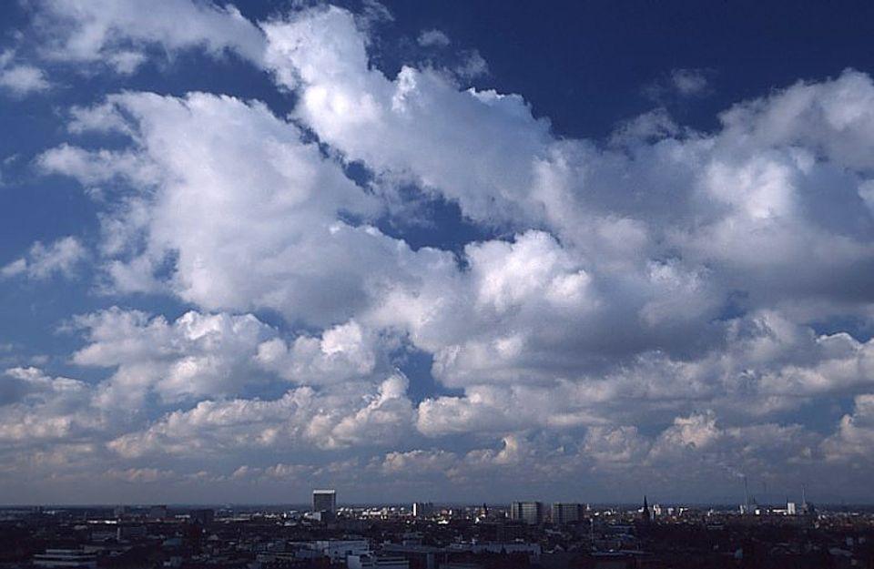 Wetter: Kumuluswolken