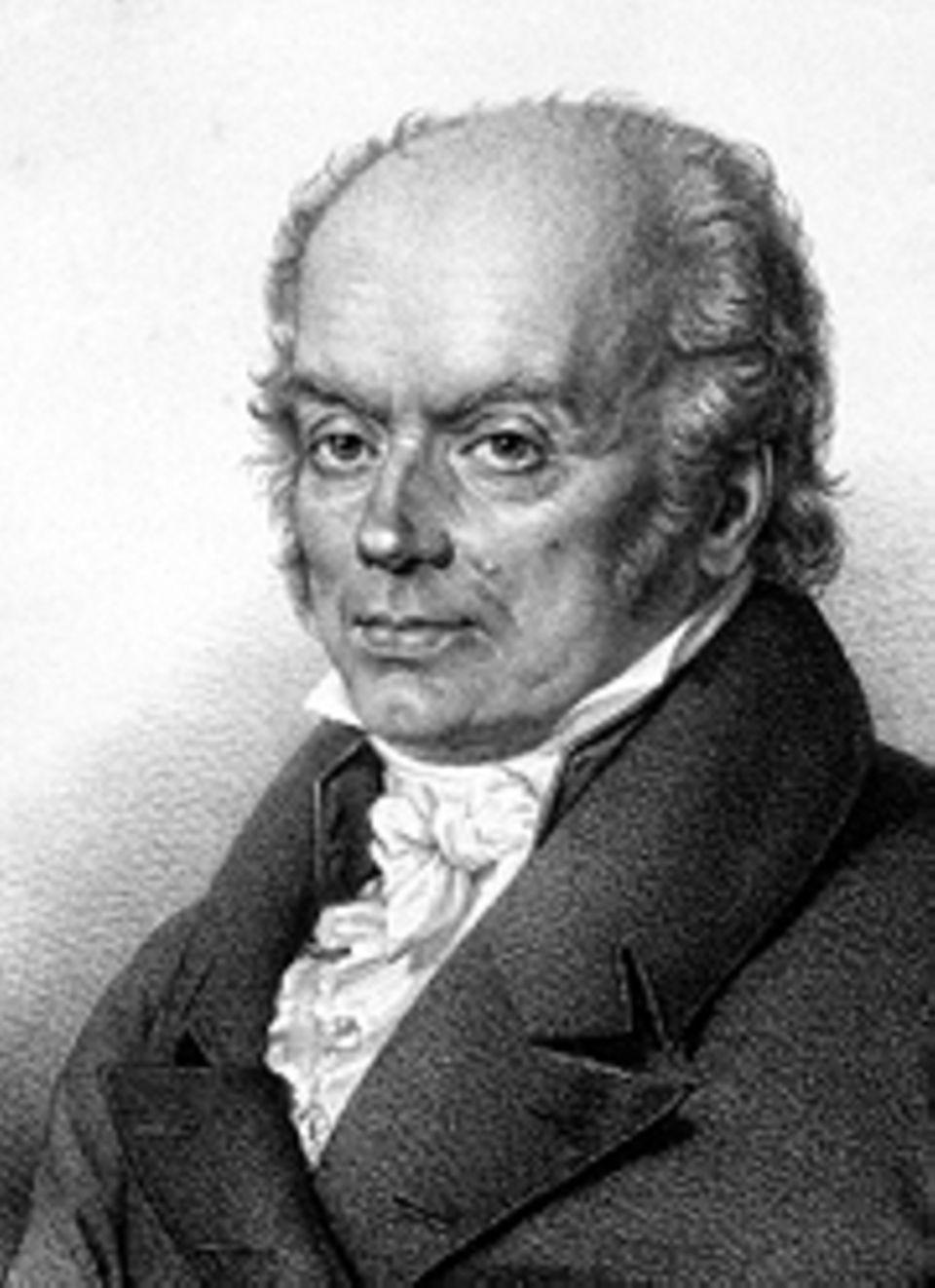 Das Gehirn: Franz Joseph Gall (1758–1828) untersucht als junger Arzt die Schädel von Verbrechern und Geisteskranken von Streitsuchenden und Friedfertigen. Und glaubt fortan, an den Schädelwölbungen eines Menschen dessen Intelligenz oder Triebhaftigkeit, Mordlust oder Anhänglichkeit erkennen können