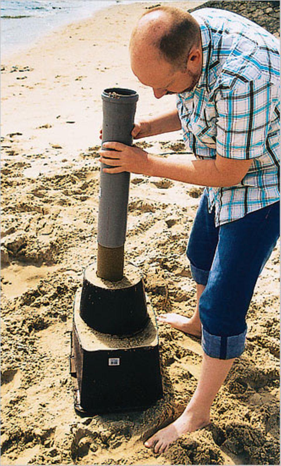 Basteltipp: Sandburgen für Profis