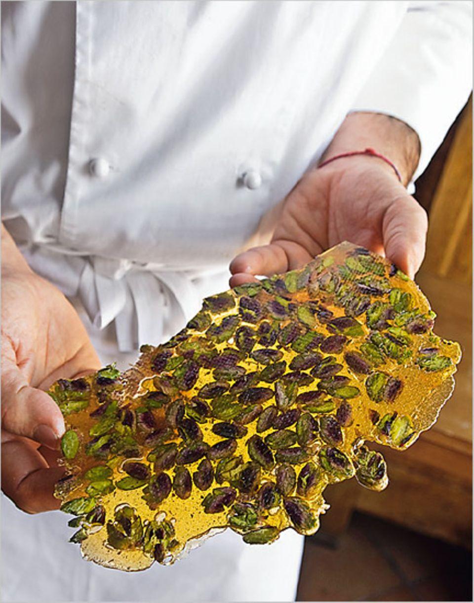 Raffinierte Süße: Karamellisierte Pistazien veredeln den Nachtisch