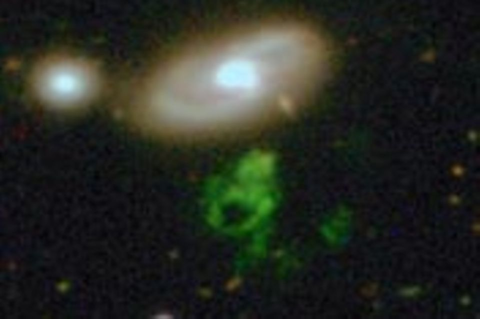 Galaxy Zoo: Hannys rätselhaftes Objekt