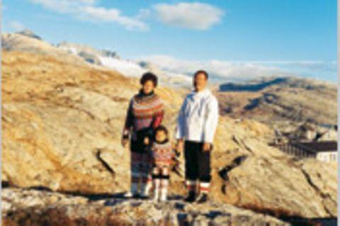 Grönland: Bei einer Inuit-Familie in der Arktis