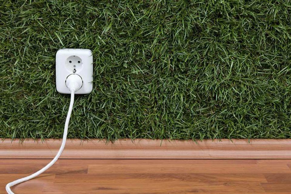 Kommt auch aus der Steckdose: grüner Strom