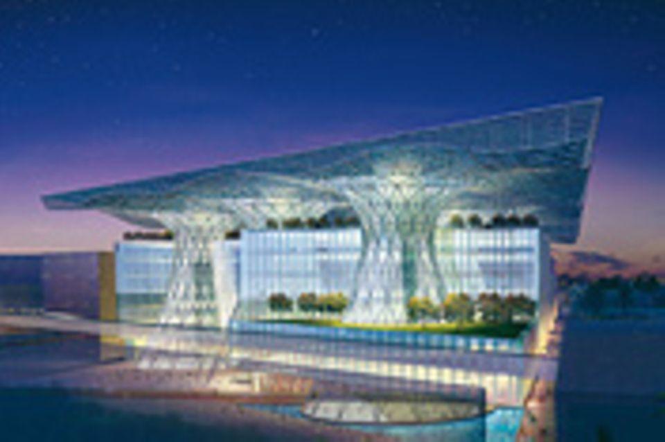 """""""Masdar City"""": Die Null-Emissions-Stadt in der Wüste"""