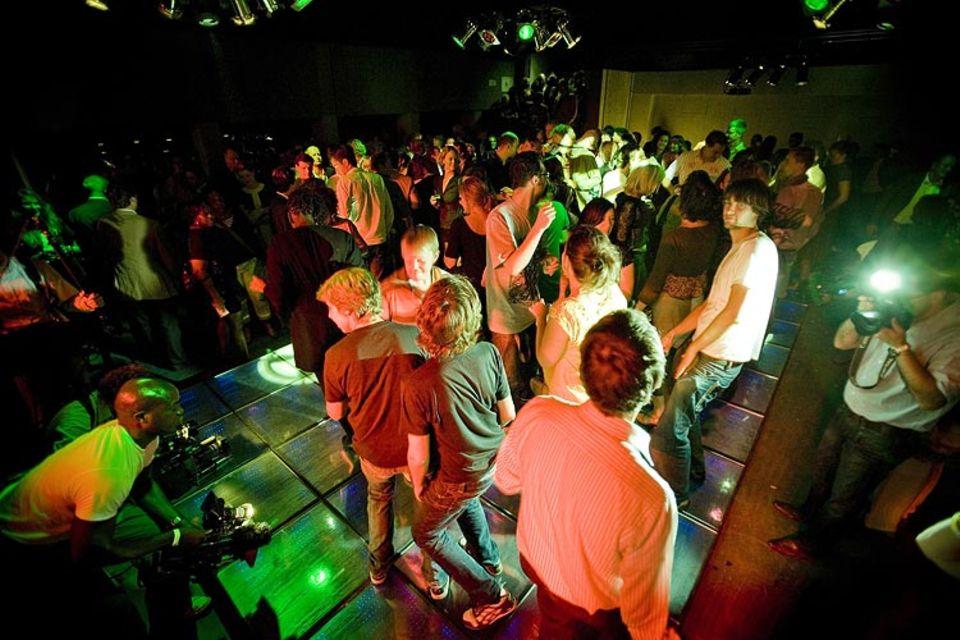 Tanzen fürs Klima im Watt-Club