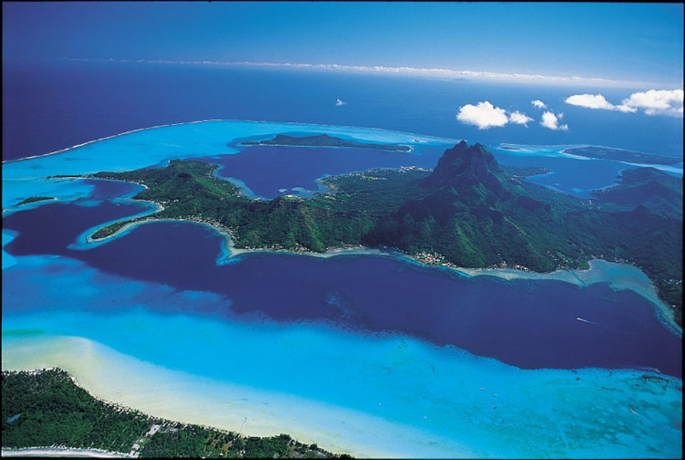 Magie: Was Promis und Profis empfehlen: Bora Bora - für Traumschiff-Produzent Wolfgang Rademann einer der schönsten Plätze der Welt