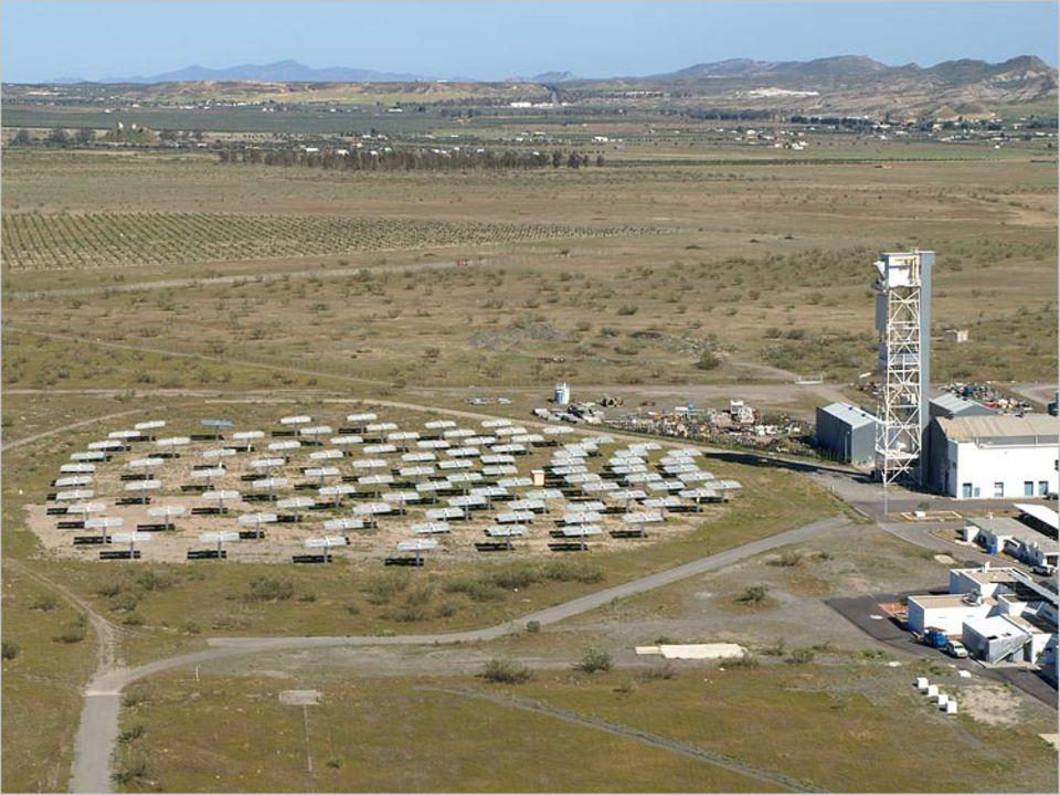 Zukunftsweisende Technik? Die DLR-Versuchsanlage im spanischen Almería