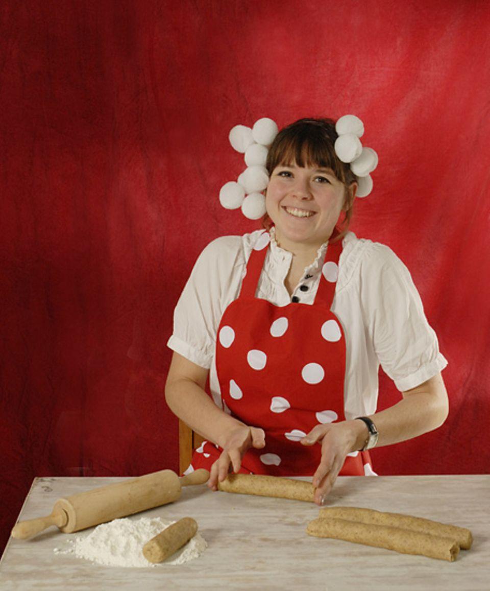 """Grafikerin Carolin Löbbert liebt besonders """"Heidesand"""" - und verrät euch hier ihr Rezept für die süßen Kekse"""