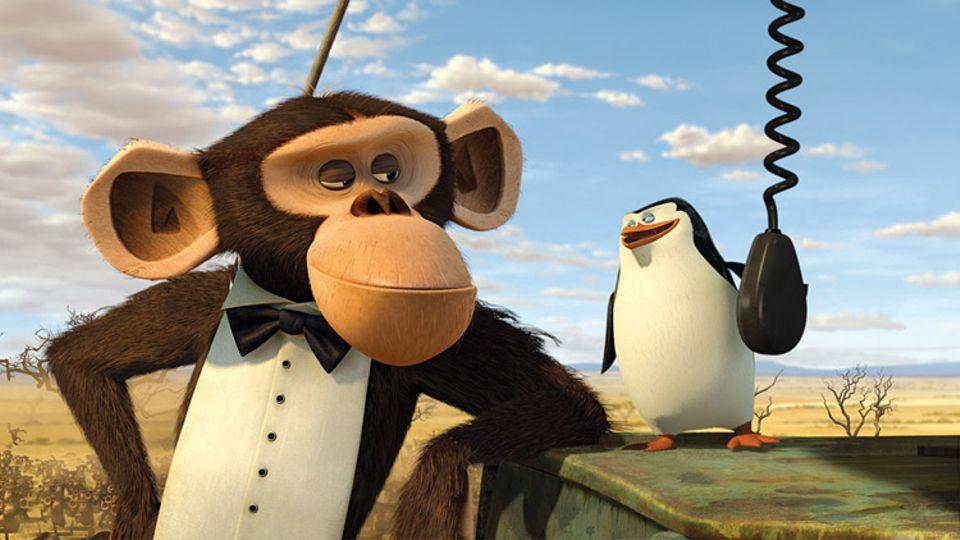 """Smudo, Michi Beck und Thomas D von den """"Fantastischen Vier"""" liehen den Pinguinen in Madagascar 2 ihre Stimmen"""