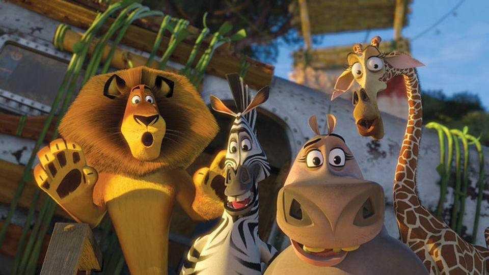 Die tierischen Freunde Alex, Marty, Gloria und Melman sind wieder da!