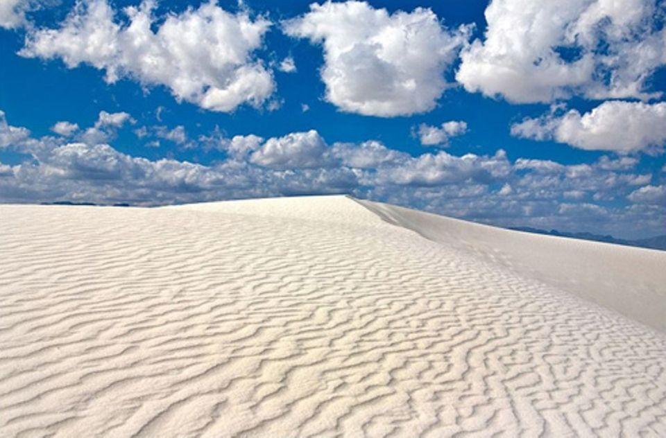 Schiebepuzzle: Nr. 25: Wüste in New Mexico