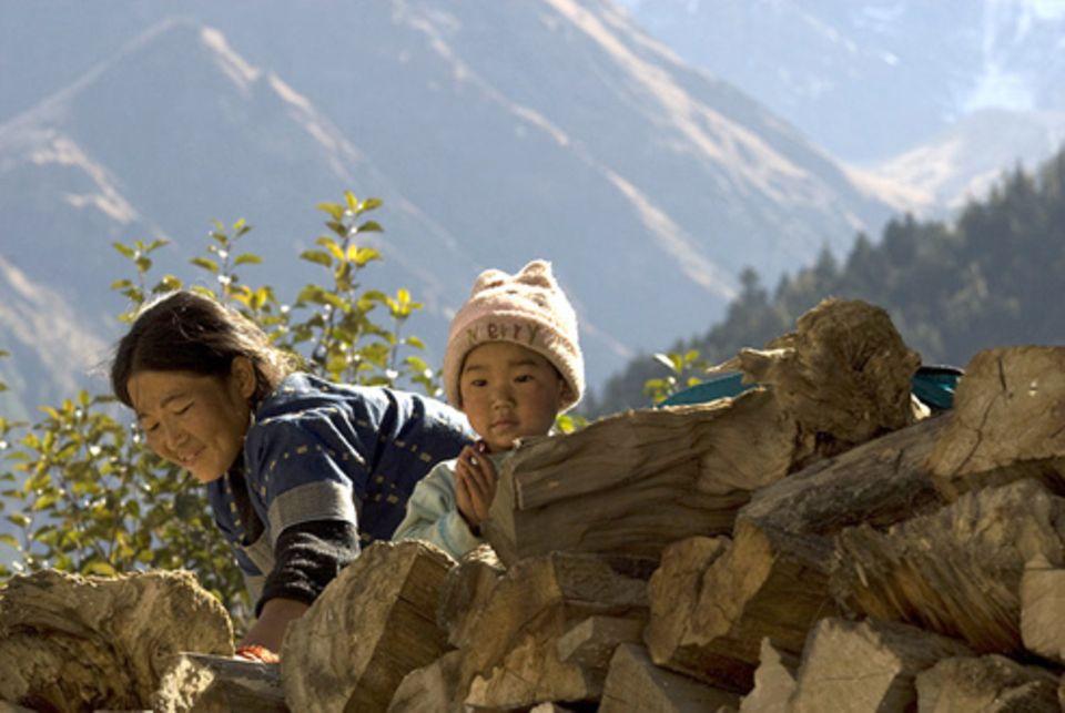 Schiebepuzzle: Nr. 28: Nepal