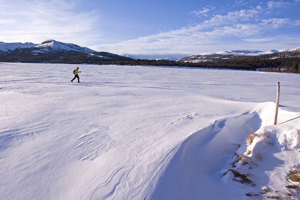 Des Langläufers größtes Glück: enorm viel Einsamkeit im norwegischen Rondane Nationalpark