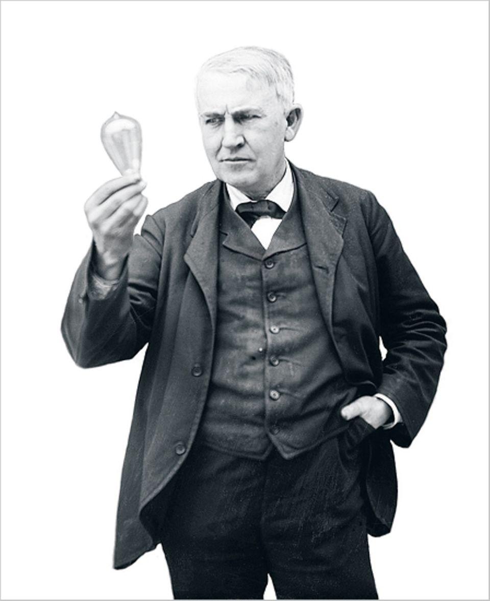 Glühend verehrter Erfinder: Thomas A. Edison (1847-1931)