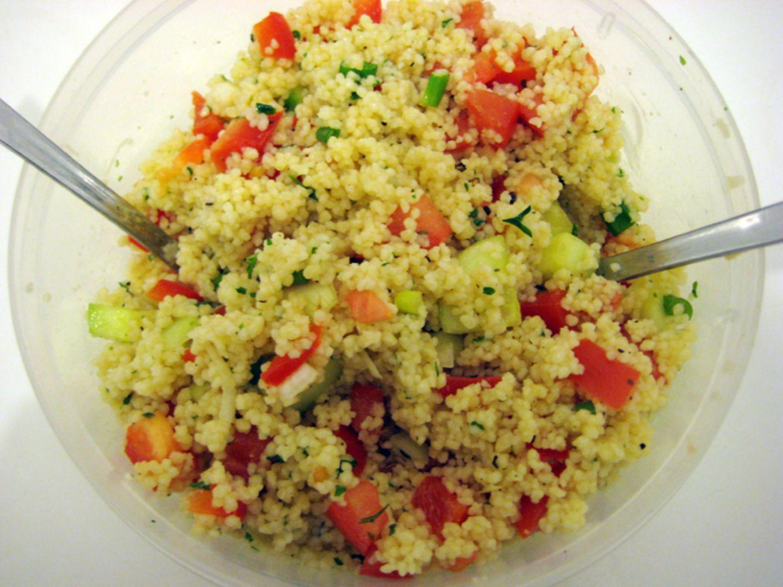 Rezept: Couscous-Salat