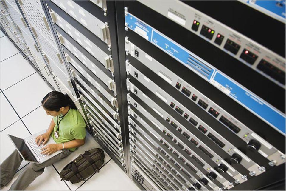 Server - das vergisst man leicht - verbrauchen Strom