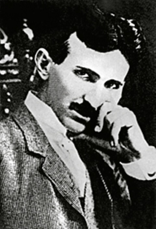 Erfinder: Als 28-jähriger wandert Nikola Tesla 1884 in die USA aus und arbeitet zunächst für Thomas Edison