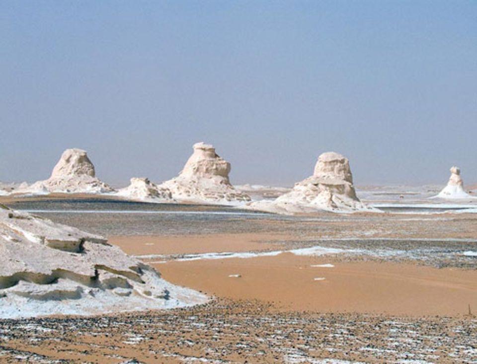 Schiebepuzzle: Nr. 57: Weiße Wüste in Ägypten