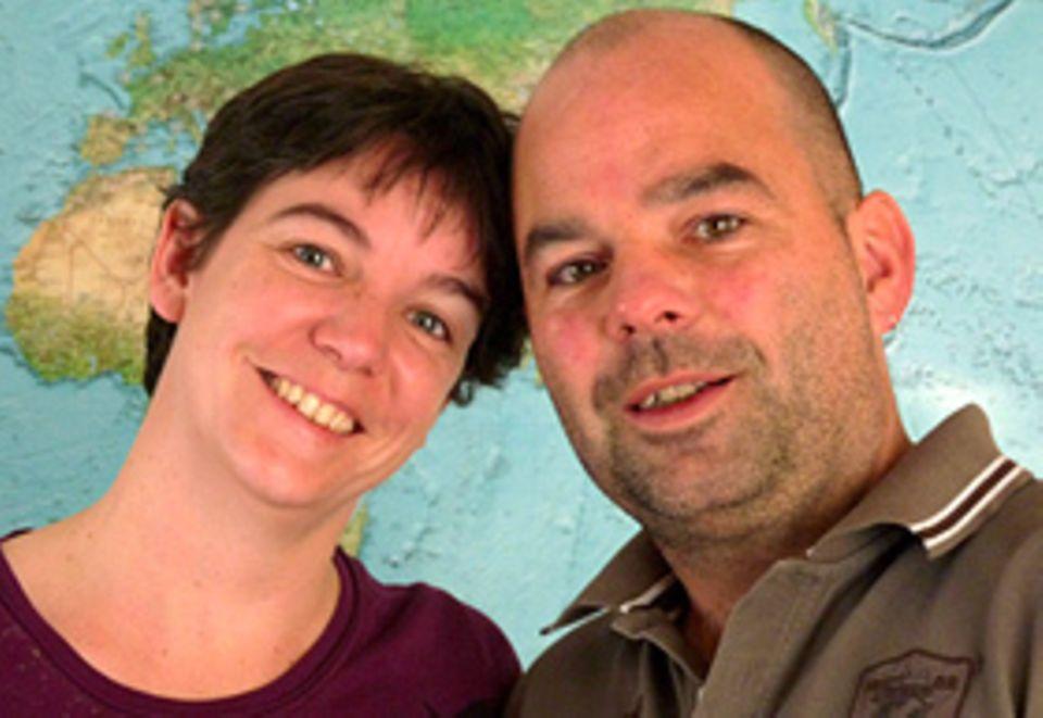 Weltreisende in spe: Helga Negele und Jürgen Dommer