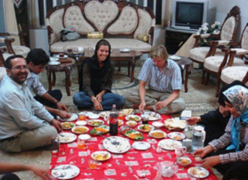 Eine Essenseinladung unterwegs: ein Event für die gesamte Familie