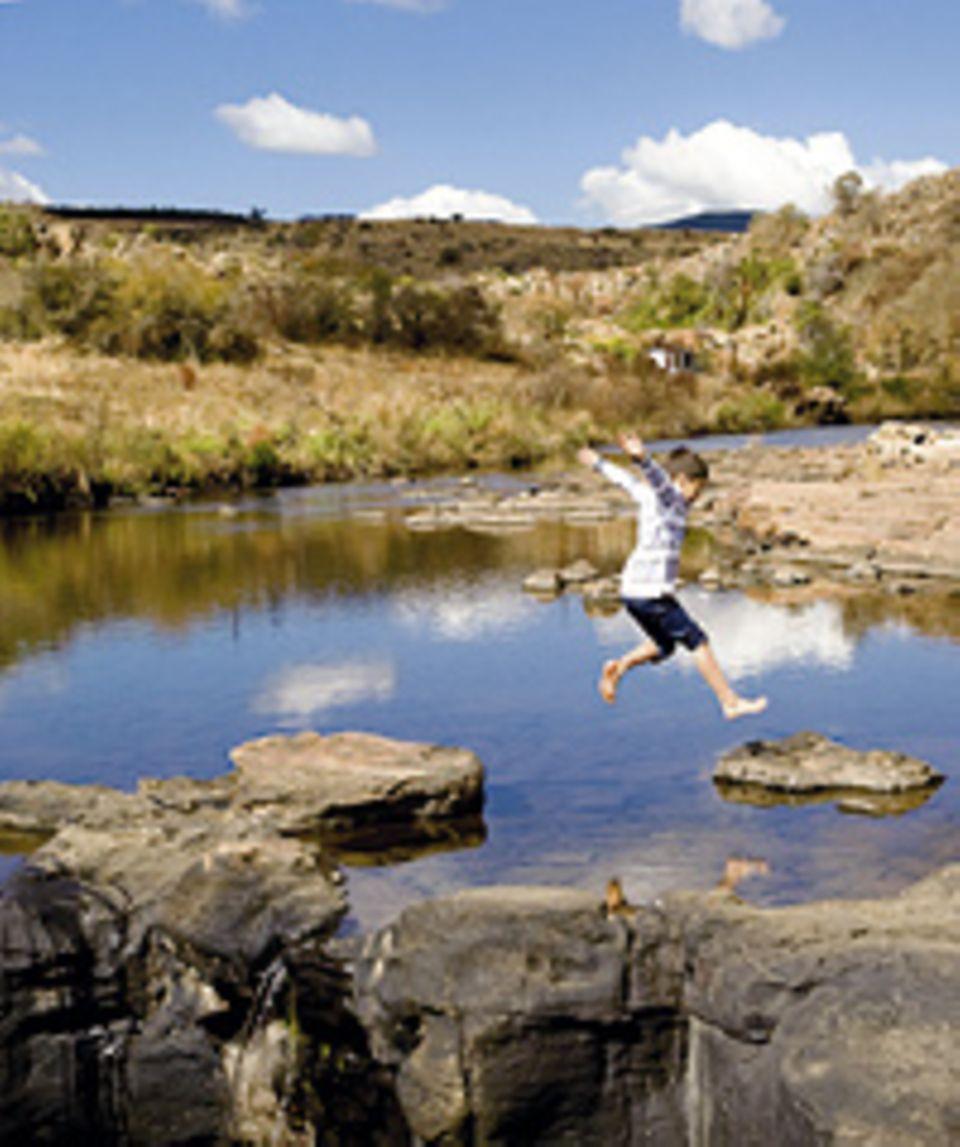 Südafrika: Ein Freizeitpark mitten in der Natur: perferkt für kurze Spielerei
