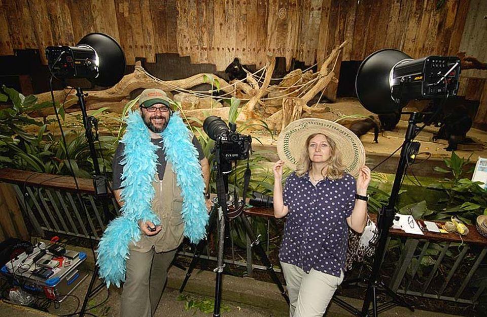 Heidi und Hans-Jürgen Koch sind Tierfotografen