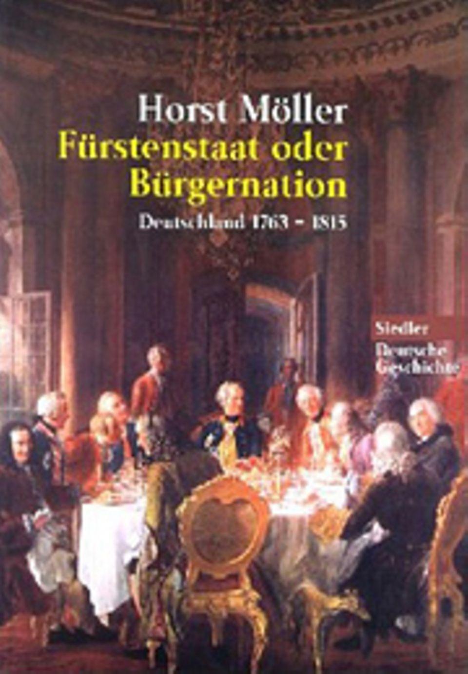 Die Deutsche Romantik: Einband der gebundenen Ausgabe