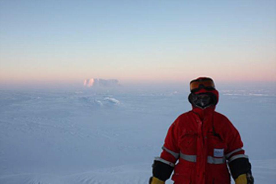 Die Geophysikerin Heidi Turpeinen verbringt 15 Monate in der Antarktis