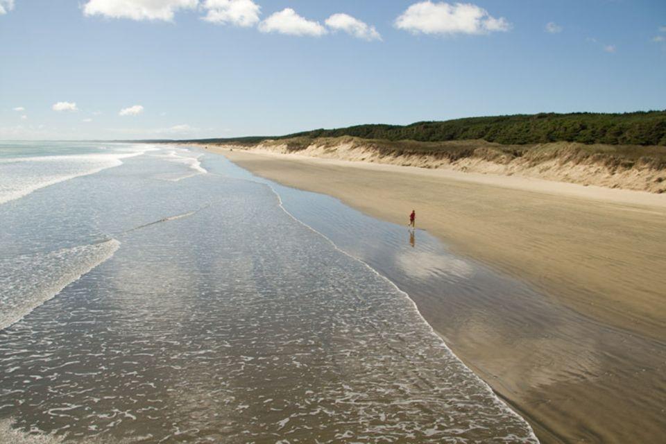 Lilac Flay am 90-Mile-Beach. Die Athletin zählt zu den besten Läuferinnen der Südhalbkugel